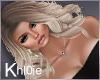 K sandy blonde light lux