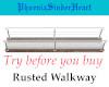 Rusted Walkway