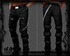 FALL STRAPPED BLACK PANT