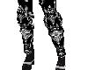 Silver Medieval Legging