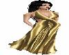 Skys Golden Evening Gown