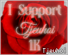 [Tj] 1K Support Sticker