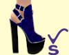 VS- Chunky Velvet Purple
