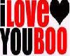 I Love You Boo...