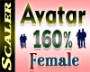Avatar Resizer 160%