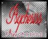 Psychosiss Name Sticker