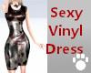 Vinyl Dress BlackRed