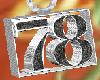 78 black diamond chain
