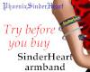 SinderHeart armband