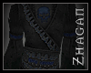 [Z] Necromancer Top blue