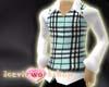 Checkers Vest blue