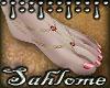 Summer Feet Pink GLD