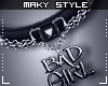 M:Bad Girl choker