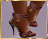 A25 60's Polka Dot Heels