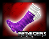 CEM Purple Winter Boots