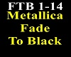 Metallica  Fade To BlacK
