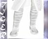Botas blancas prince med