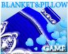 Baby Blue Teddy Blanket