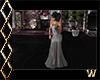 Elegant Silver Gown