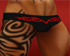 Red Tribal Swimsuit