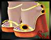 Sunflower Wedges