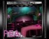 ! FishTank Bed Pink/Teal