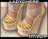 LC Luau Summer Wedges