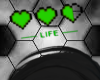 Gamer 8-Bit Life Bar