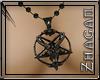 [Z] Necklace Baphomet