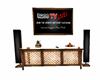 Live Tv Console w/Remote