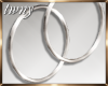 Silver Hoops Rory