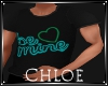Be Mine Teal Top M