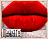 L~ Lupita Mesh LIPS RED