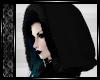 [Fur Hood] Black