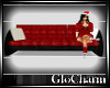 Glo* 3 SeatedCouch ~ Red