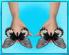 Womens Butterfly Rings