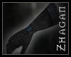 [Z] Necrom.Gloves blue
