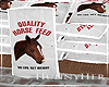 H. Horse Feed