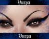Black brows.