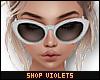 V| Classy Sunglasses Wht