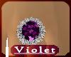(V) Amethyst Lush ring
