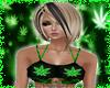 Weed Leaf Top