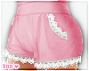 pink kawaii shorts