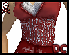 *DC Oriental Red Gown