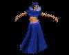 (1M) Blue Pastor Robe