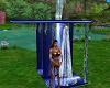 Dusche Sexy mit Posen