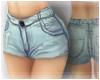 ~<3 Light Denim Shorts