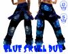 Blue Skull Dub Pant (f)