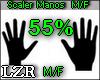Scaler Manos 55% M / F