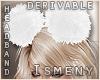 [Is] Fur Headband 3 Drv